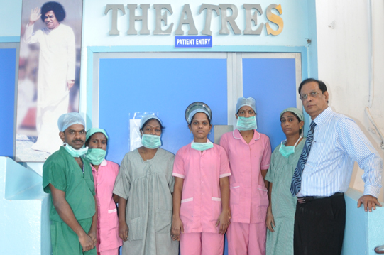 Geetha Hospitals Operation Theatres